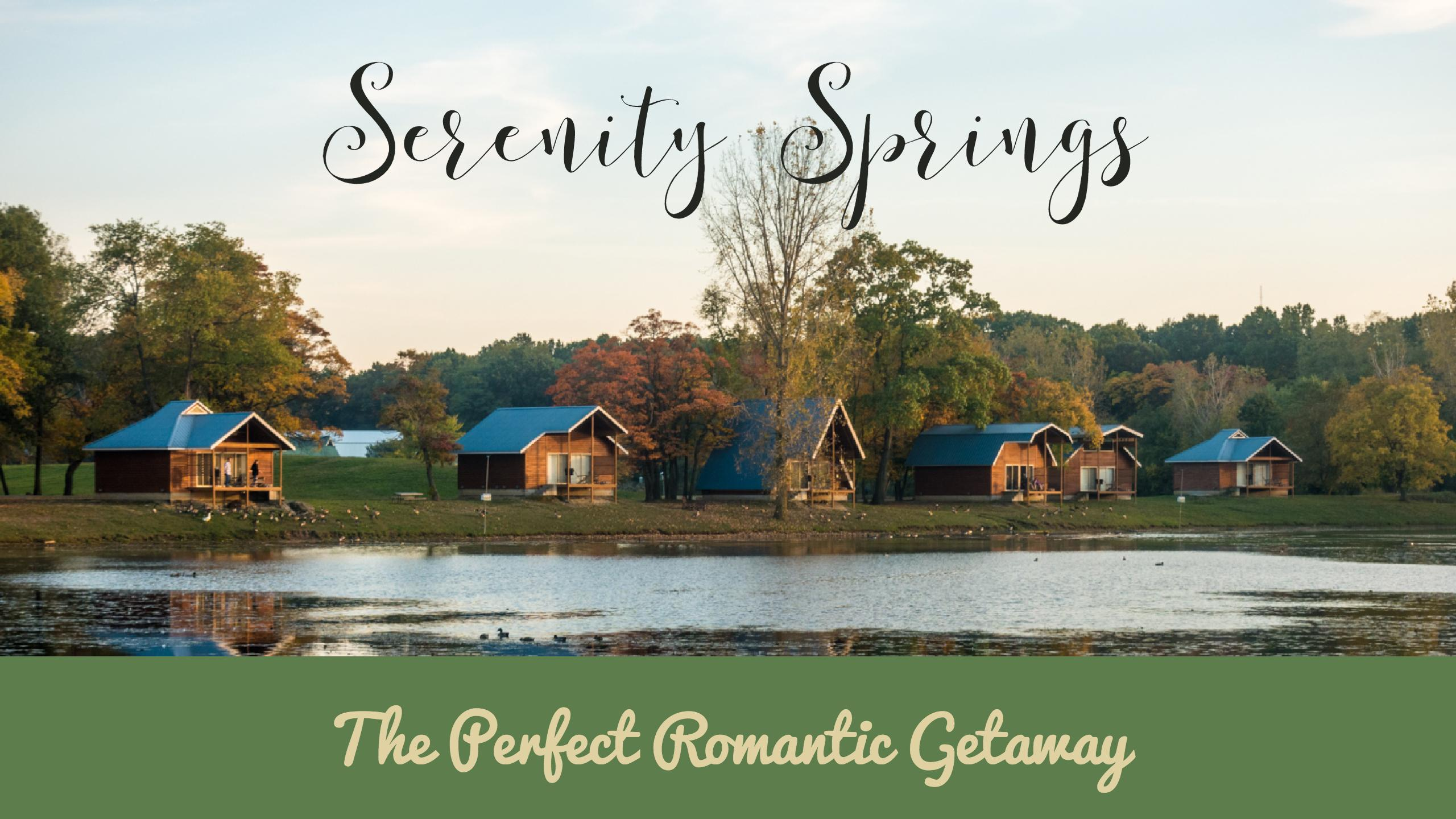 Serenity Springs: The Perfect Romantic Getaway for celebrating an anniversary or any occasion.  #travel #romantic #getaway