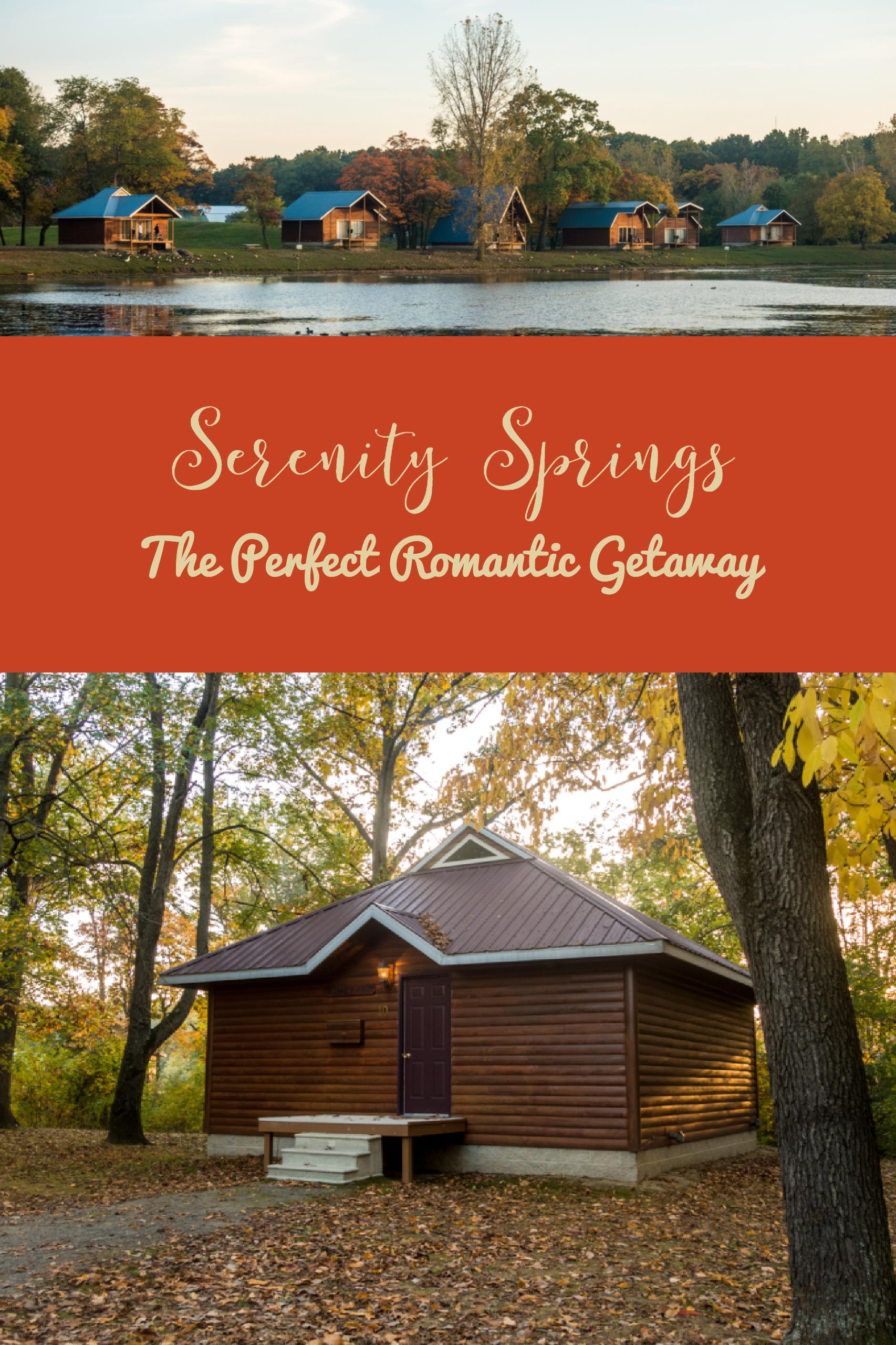 Serenity Springs: The Perfect Romantic Getaway for celebrating an anniversary or any occasion. #travel #getaway #romantic