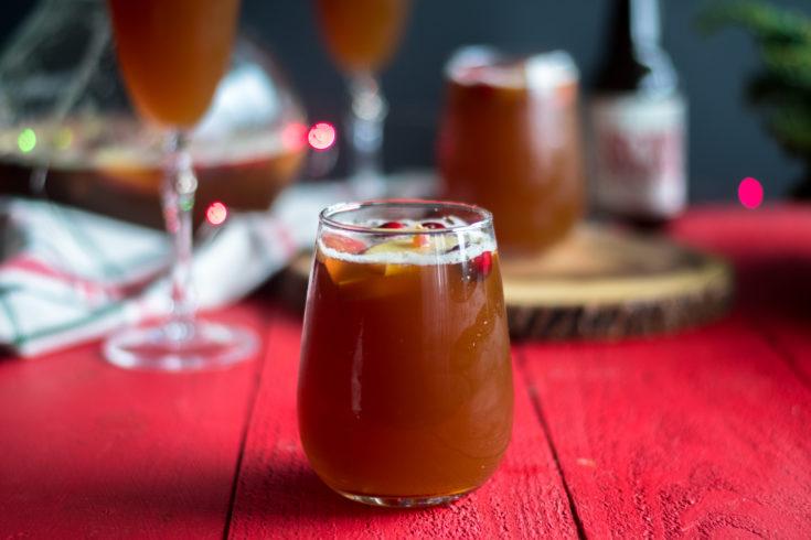 Christmas Beer Sangria