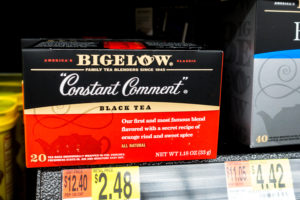 Constant Comment from Bigelow Tea makes a wonderful base for a marinade.