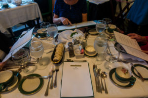 A stay at the historic Grand Hotel on Mackinac Island includes a wonderful 5 course dinner!