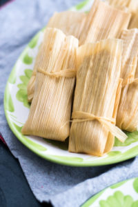 Traditional sweet Mexican Lime Tamales are perfect for the holidays. #vegan #tamales