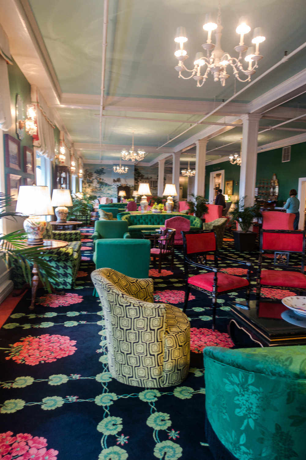stay at the historic Grand Hotel on Mackinac Island