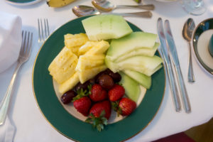 Breakfast at the Grand Hotel