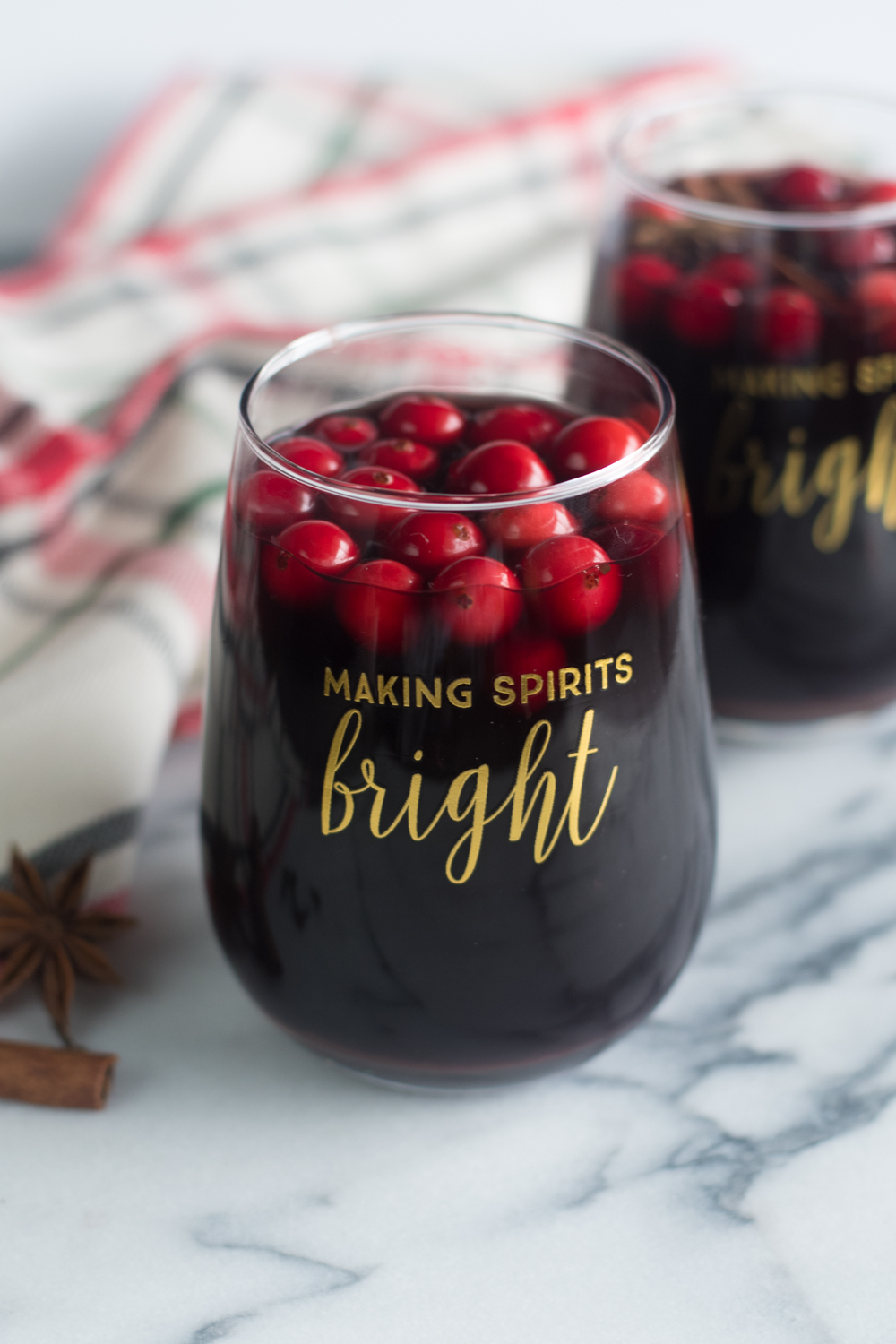 Warm up on a chilly night with this easy to make slow cooker mulled wine!