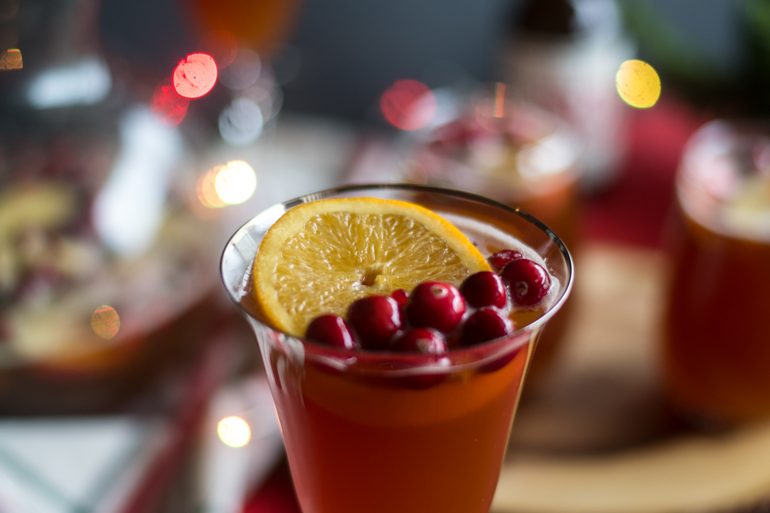 This festive Christmas Beer Sangria is perfect for all the beer lovers in your family.