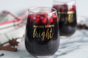 Slow Cooker Mulled Wine is perfect for serving during the holidays or on a chilly night.