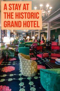 stay at the historic Grand Hotel on Mackinac. #michigan #grandhotel #travel