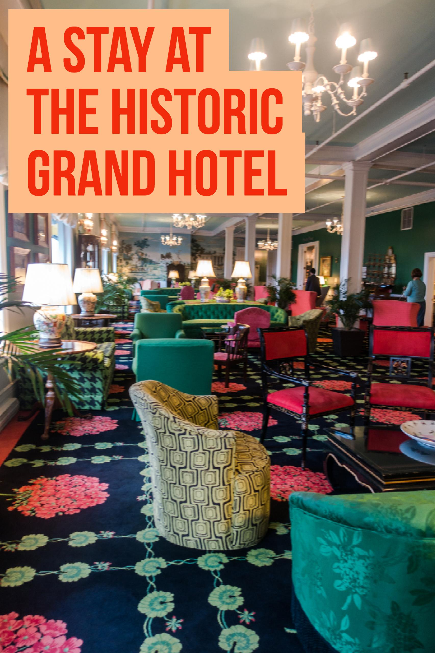 stay at the historic Grand Hotel on Mackinac. #michigan #grandhotel #travel