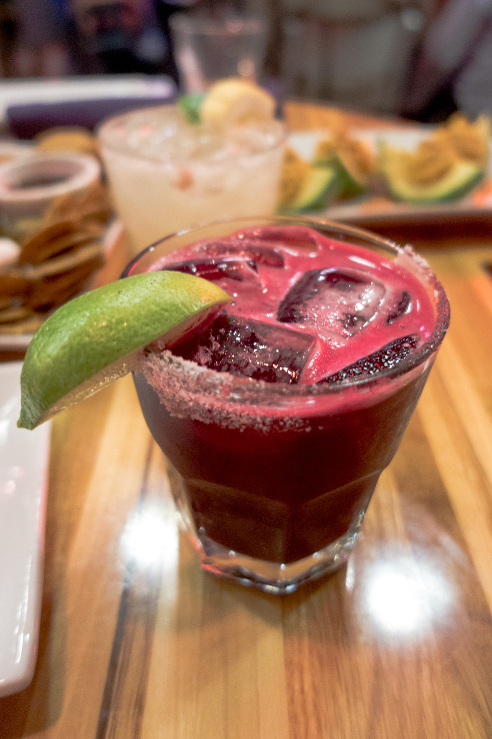Beet Margarita from Zest Kitchen & Bar in Salt Lake City