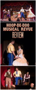 Disney's Hoop Dee Doo Musical Revue Review.Should you add this dinner show to your next Disney trip? Plus, tips for attending the show! #disneyworld #hoopdedoo #fortwilderness