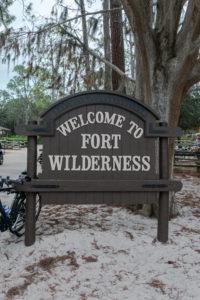Getting to Disney's Hoop-de-doo revue at Fort Wilderness. #disneyworld
