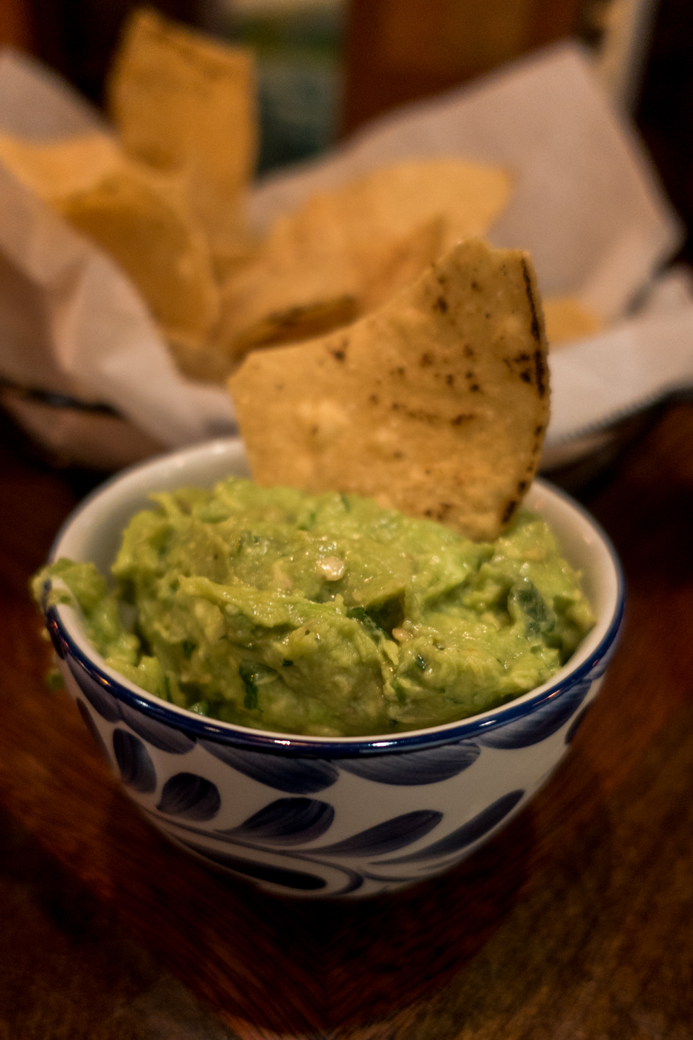 chips and guacamole at La Cava del Tequila located inside the Mexico Pavilion at Epcot. Their guacamole is delicious! #disneyworld