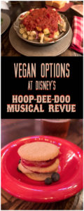 Vegan dining optional at Disney's Hoop-Dee-Doo Review. #vegan #disneyworld