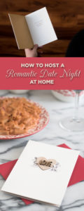 Tips on how to host a romantic date night at home for valentine's day! How to create the perfect romantic ambience for a date night at home! #valentinesday #datenight