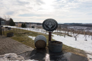 Winter is a great time to visit Michigan wineries. #michigan #wine
