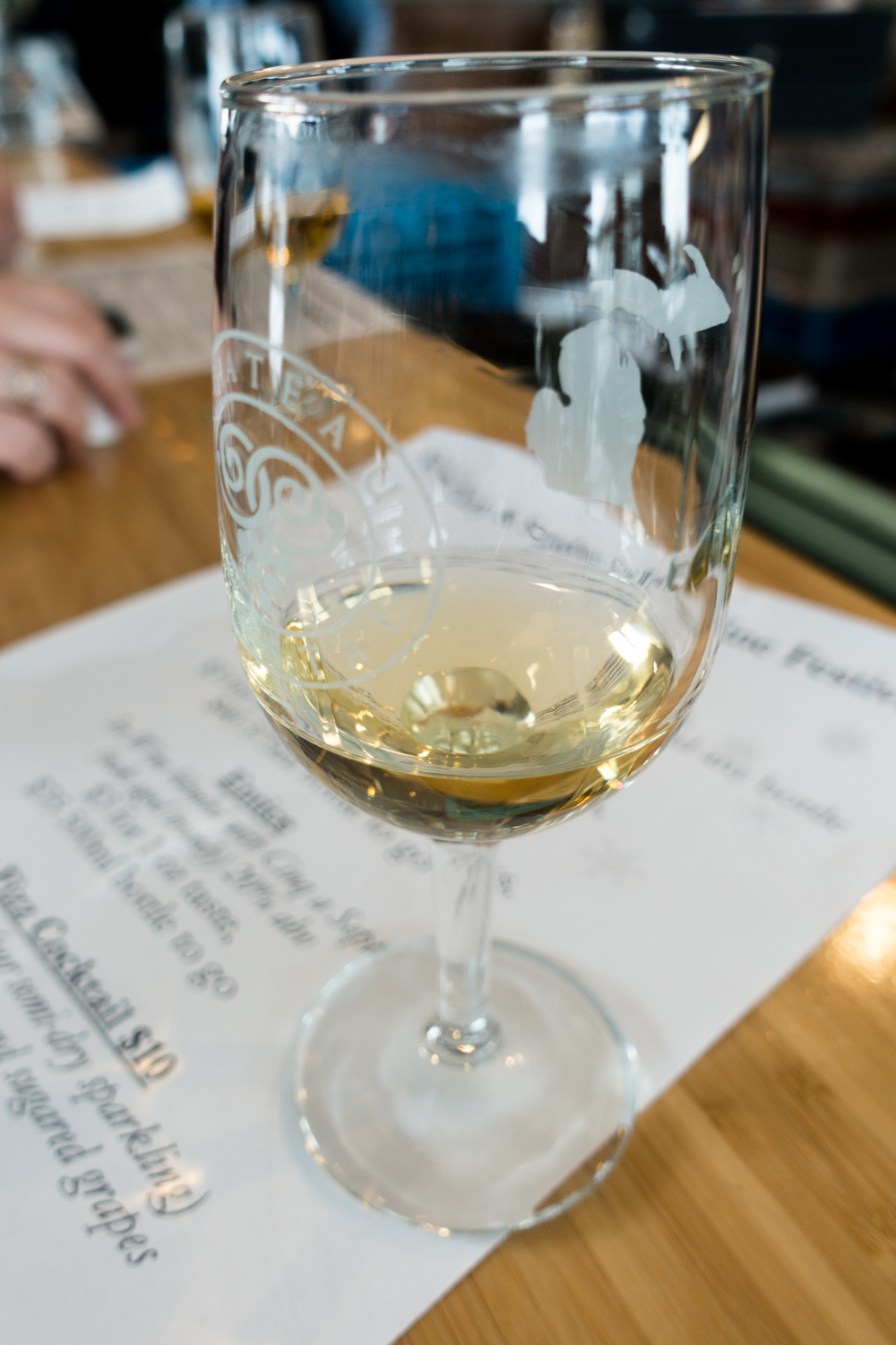 "Ice wine is often called the ""Nectar of the Gods."" With one taste, you'll see why it gets that name. #wine #traversecity"