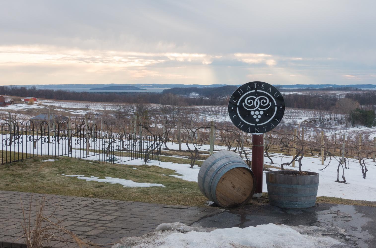 Wine tasting in Northern Michigan.