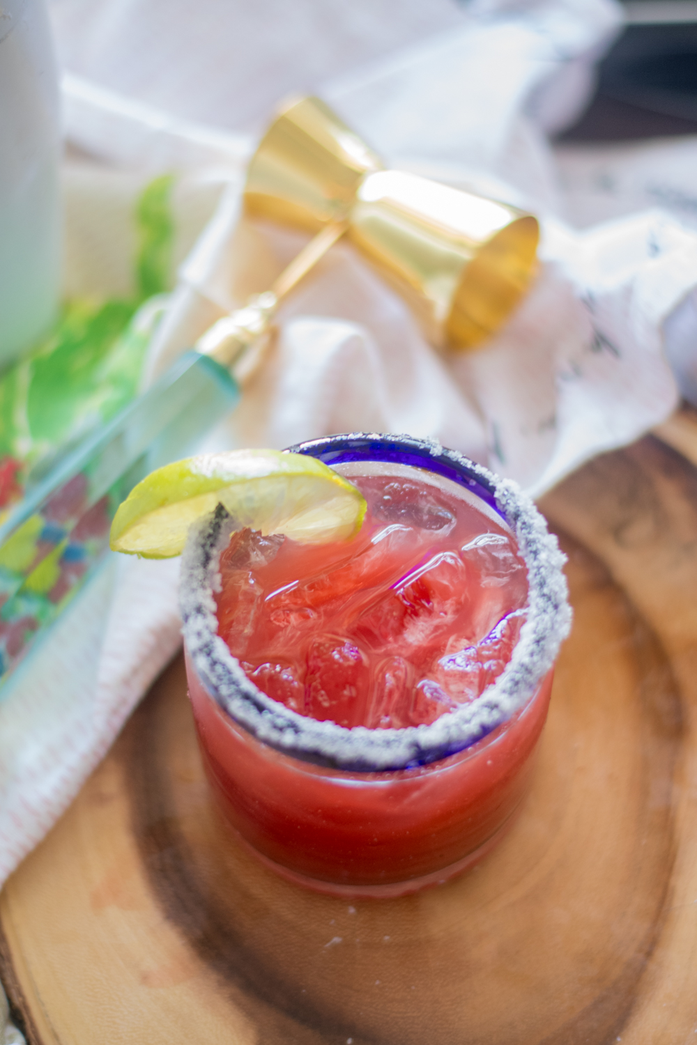 This refreshing Beet Margarita is perfect for your next fiesta! #mexican #drink