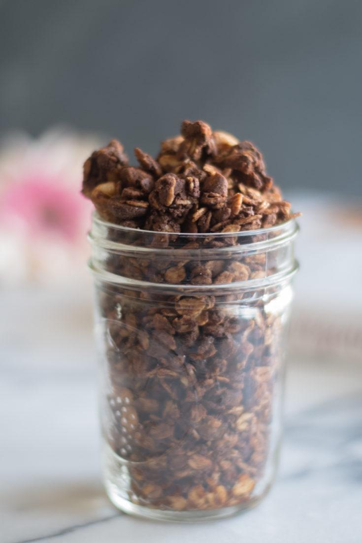 Nutty Chocolate Granola
