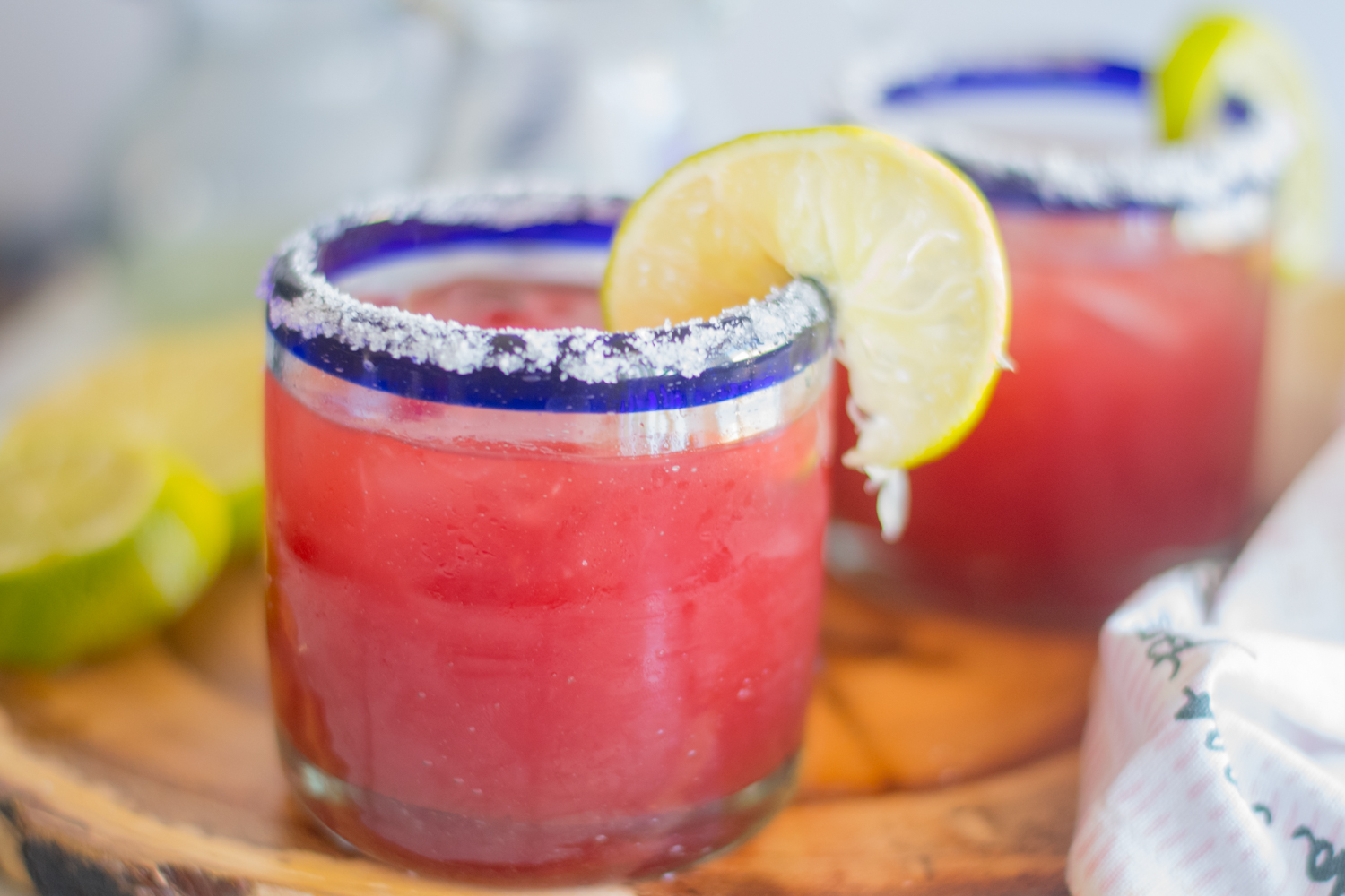 This refreshing Beet Margarita is perfect for your next fiesta!