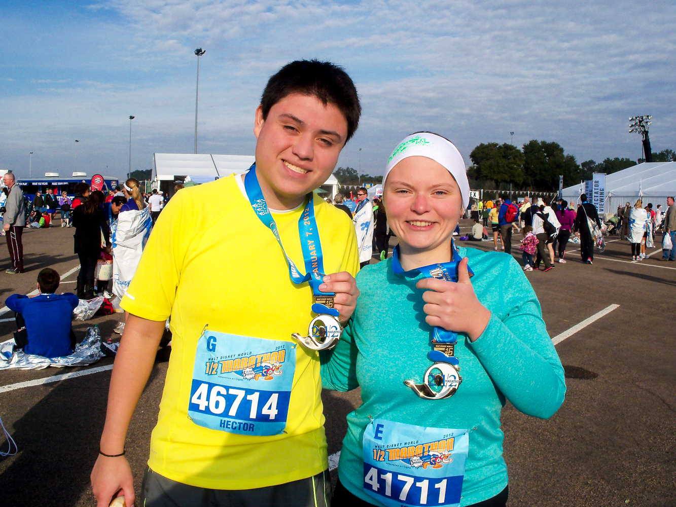 a fun way to have an active vacation is to participate in a runDisney event. #disney #running
