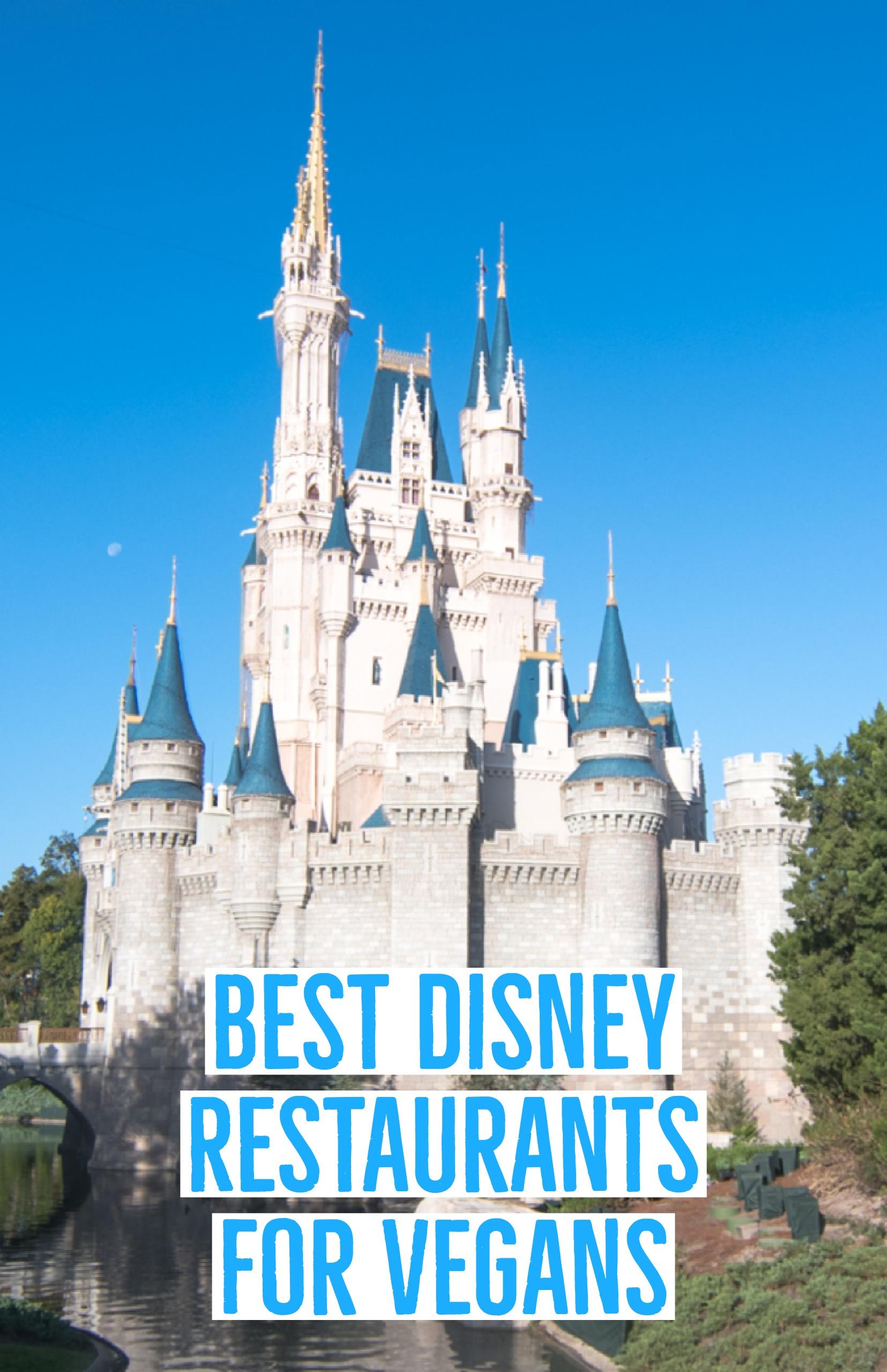 A guide to the Best Disney Restaurants for Vegans. #disneyworld #vegan