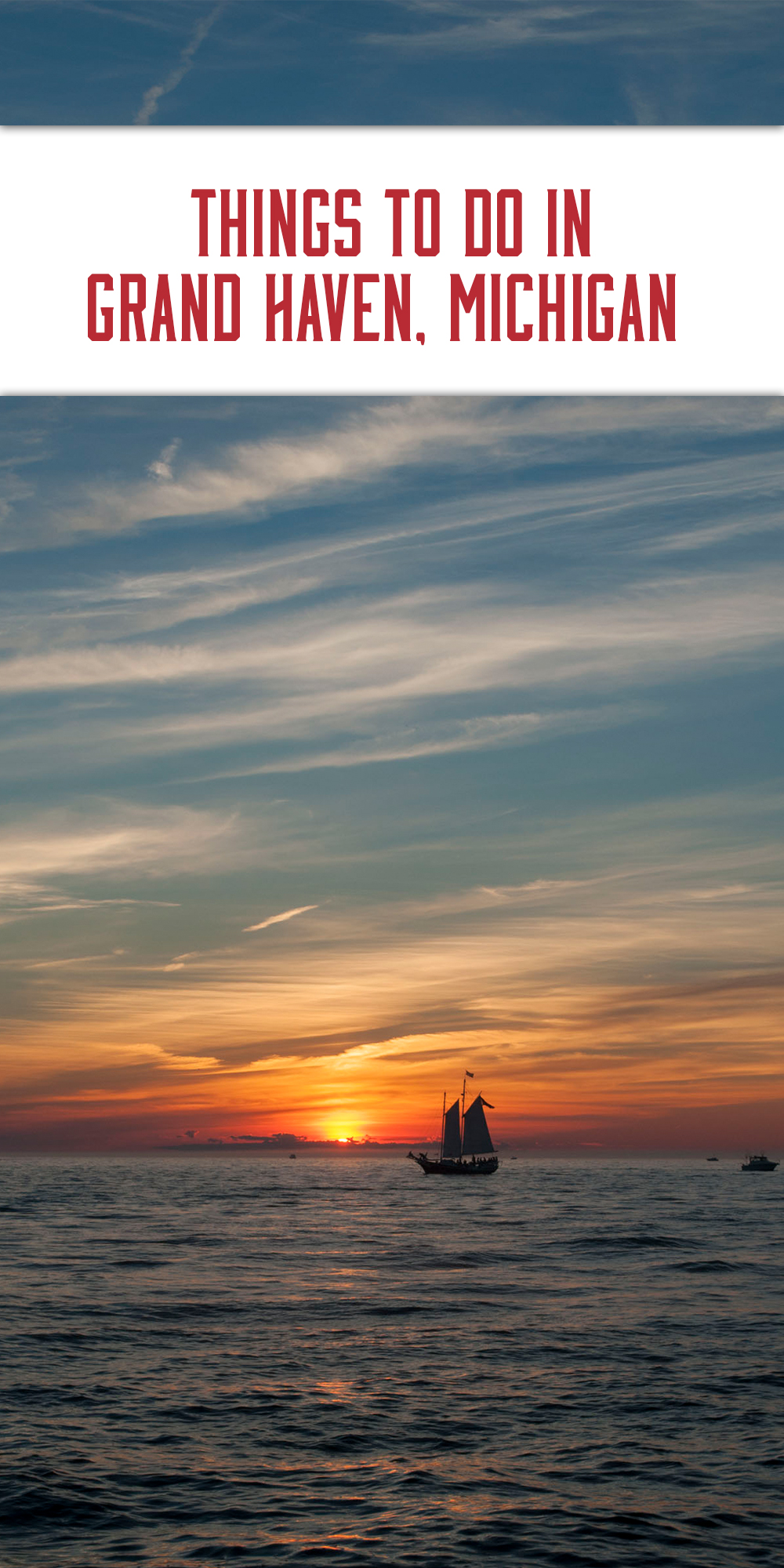 A guide on the best things to do in Grand Haven, Michigan. #GrandHaven #Michigan