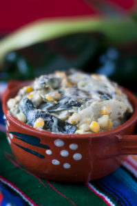 Inspired by traditional Mexican Rajas con Crema, these Vegan Creamy Rajas are dairy-free!