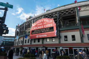 Travel Guide to Wrigleyville in Chicago: Tips for seeing the Cubs play at Wrigley Field #wrigleyville #chicago #baseball #cubs #travel #summer