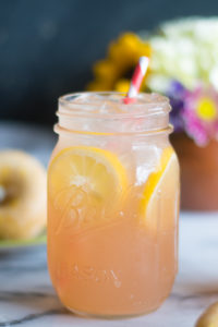 Rhubarb Ice Tea is perfect for serving at a spring brunch!