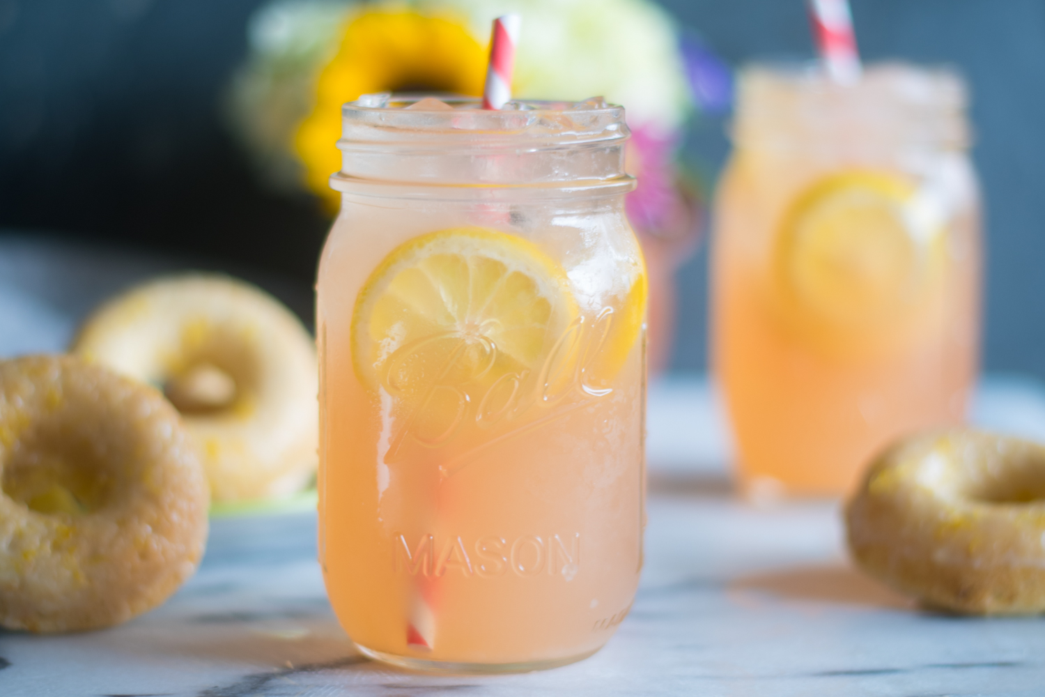 Rhubarb Ice Tea is a gorgeous drink for serving at brunch