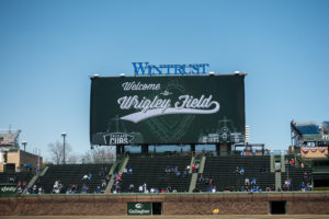 Travel Guide to Wrigleyville in Chicago: Tips for seeing the Cubs play at Wrigley Field. #chicago #travel