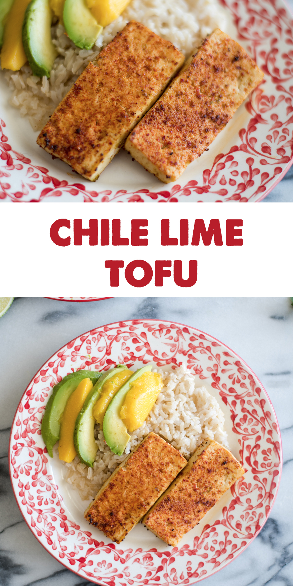 Chile Lime Tofu is packed with flavor. Chile lime seasoning adds so much flavor. So easy to make too! #vegan #tofu #vegetarian #chile #lime #recipes #glutenfree #meatless #plantbased