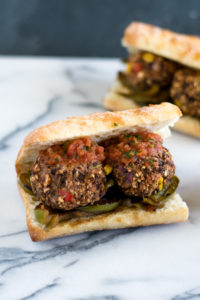You're going to love these Black Bean Meatless Meatballs from the cookbook,From the Kitchens of YamChops North America's Original Vegan Butcher Shop by Michael Abramson.