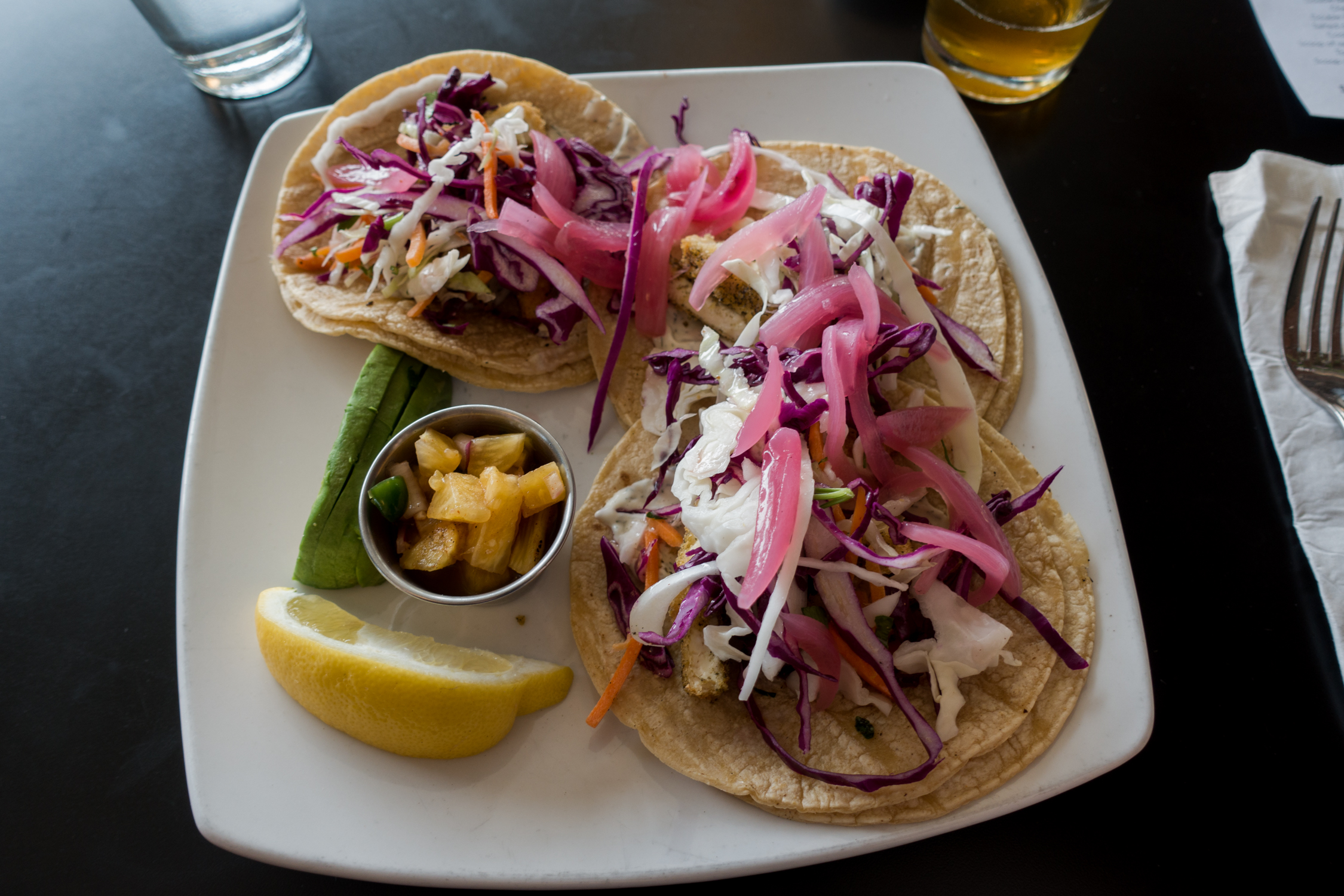 Vegan Fish Tacos in Ann Arbor, Michigan