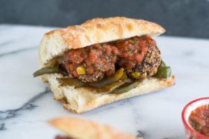 Black Bean Meatless Meatball Sub #vegan #recipes #cookbook #dinner