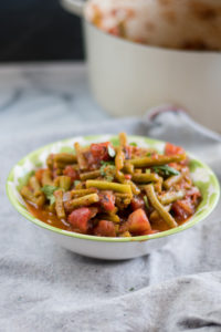 Chipotle Green Beans are a simple a easy dish. #vegan #sidedish #side #Mexican #recipe #glutenfree