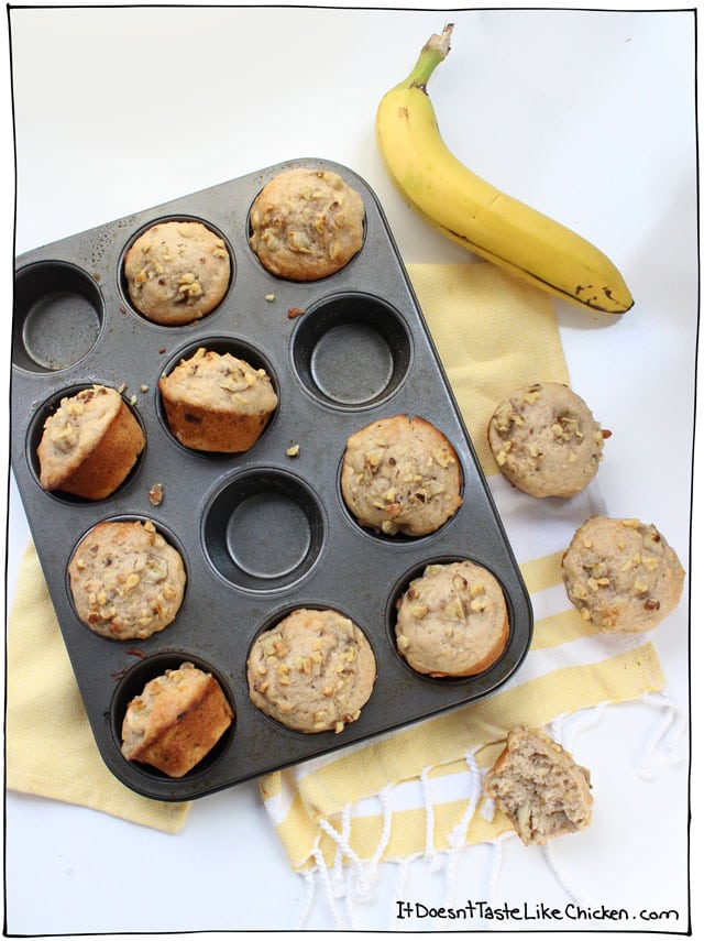 The Best Vegan Muffin Recipes! #vegan #muffin #recipe #veganrecipes #breakfast
