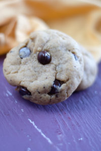 TheseVegan Pumpkin Chocolate Chip Cookies are soft, light, and so fluffy. Vegan Pumpkin Chocolate Chip Cookies are the perfect cookies for fall! #vegan #cookies #dessert #pumpkin #fallrecipes #veganrecipes
