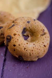 These Baked Pumpkin Spice Chocolate Chip Donuts are fluffy, light, and perfect for fall! #vegan #fall #recipes #breakfast #pumpkin