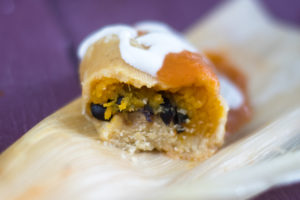 Delicious vegan tamales perfect for the holidays.