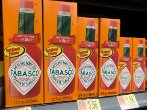 TABASCO® brand Original Red Sauce adds an extra layer of flavor to this creamy dip. The hot sauce adds a touch of heat, which balances out the dip. The hot sauce enhances the dip withoutwithout overpowering the dip.