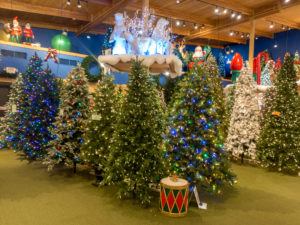 If you are looking for Christmas decorations, gifts, and collectables, Bronner's is the perfect place to shop. You'll find over 50,000 Christmas items throughout the store.