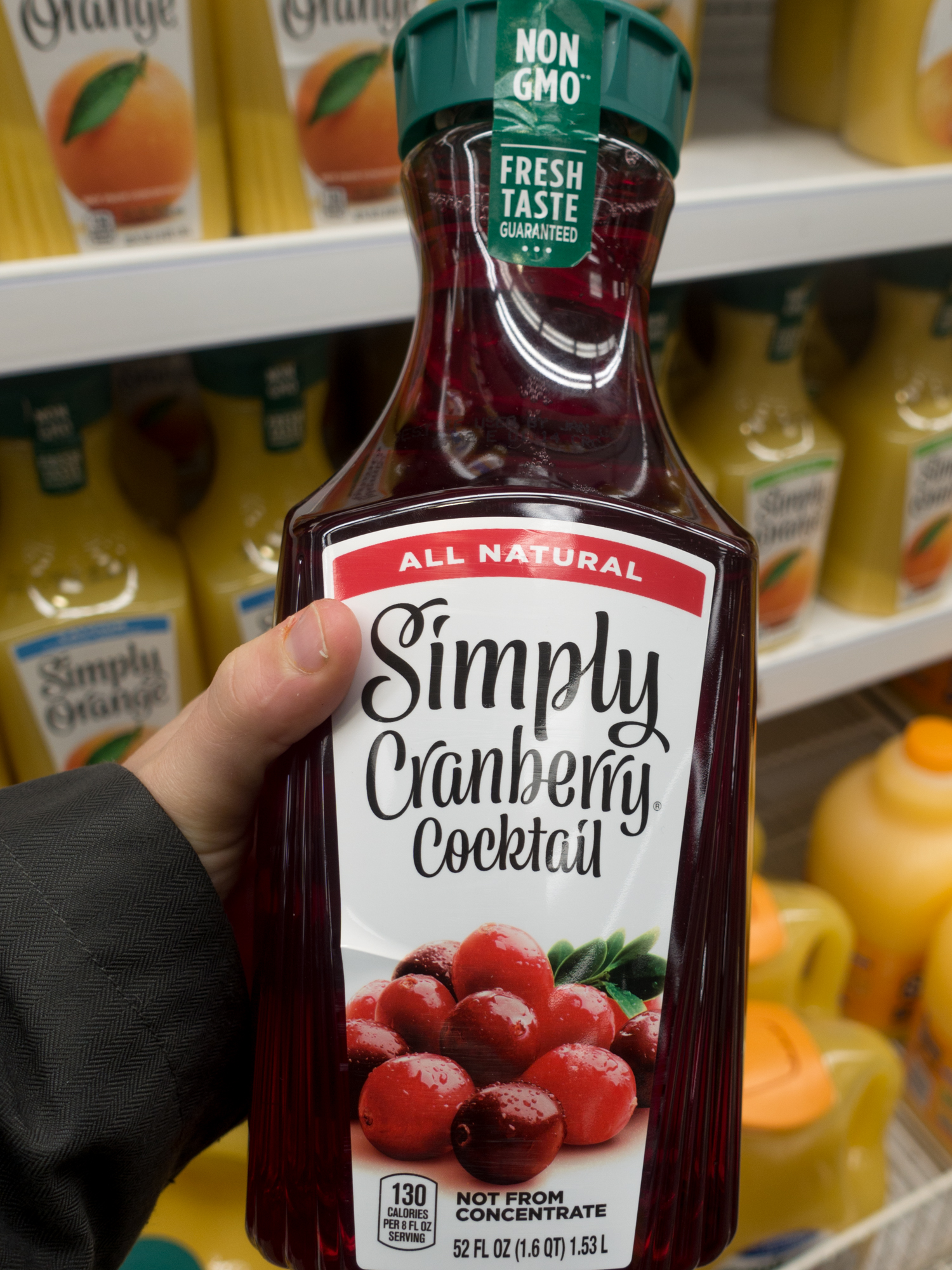 This Cranberry Margarita is one of my favorite cocktails to make during the holidays. The base of the margarita is Simply® Cranberry Cocktail which can be found at your local Kroger.