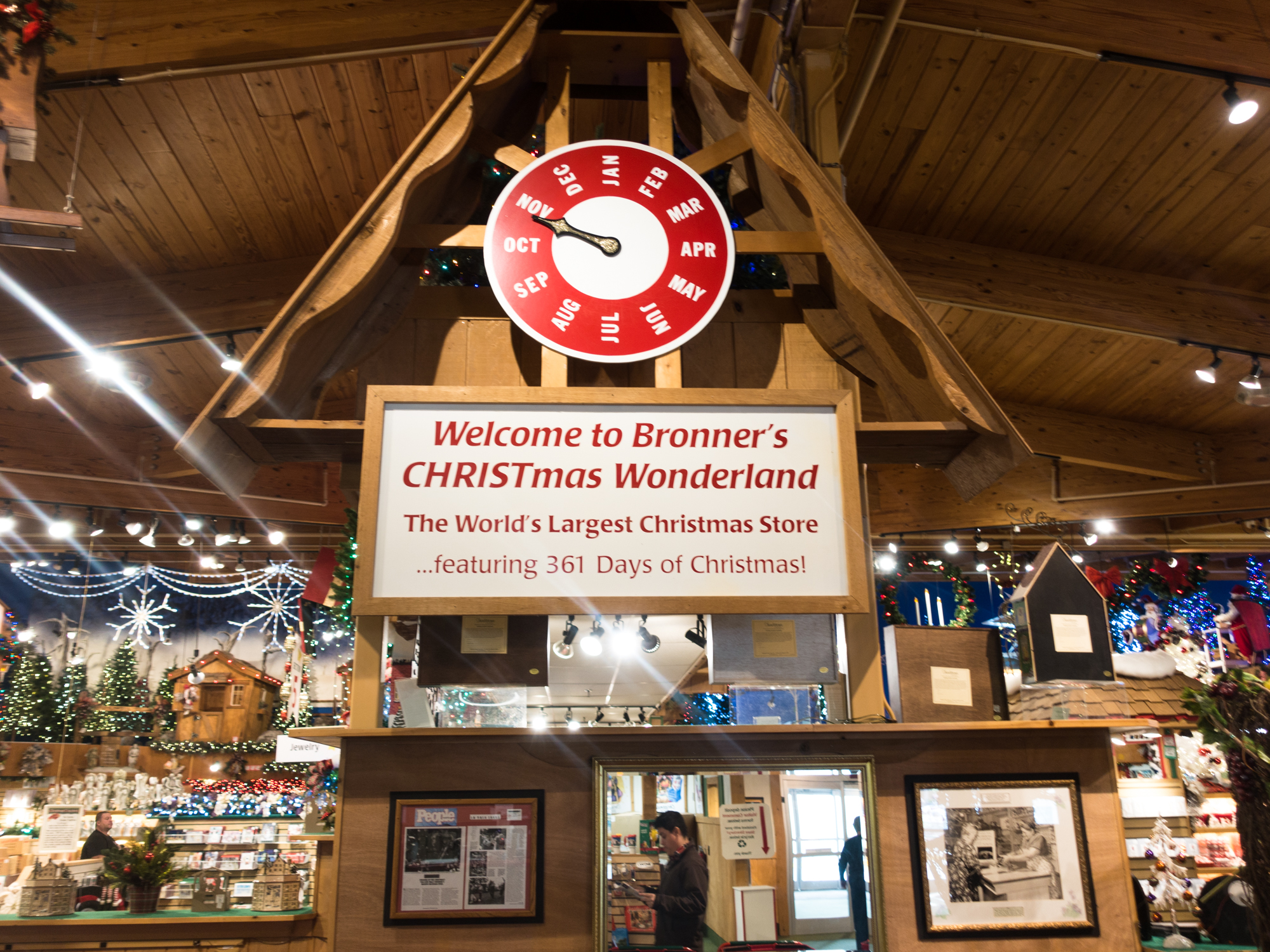 This guide to visiting Bronner's will show you why you need to visit this magical place. Plus some tips for your visit!