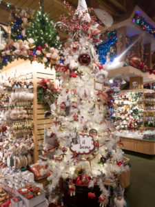 At Bronner's CHRISTmas Wonderland, you can experience Christmas year-round. This guide to visiting Bronner's will show you why you need to visit this magical place. Plus some tips for your visit! #Michigan #holidays #Christmas