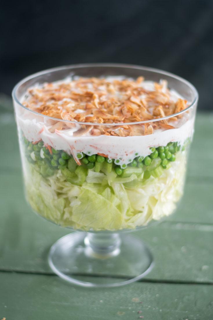 Vegan 7 Layer Salad