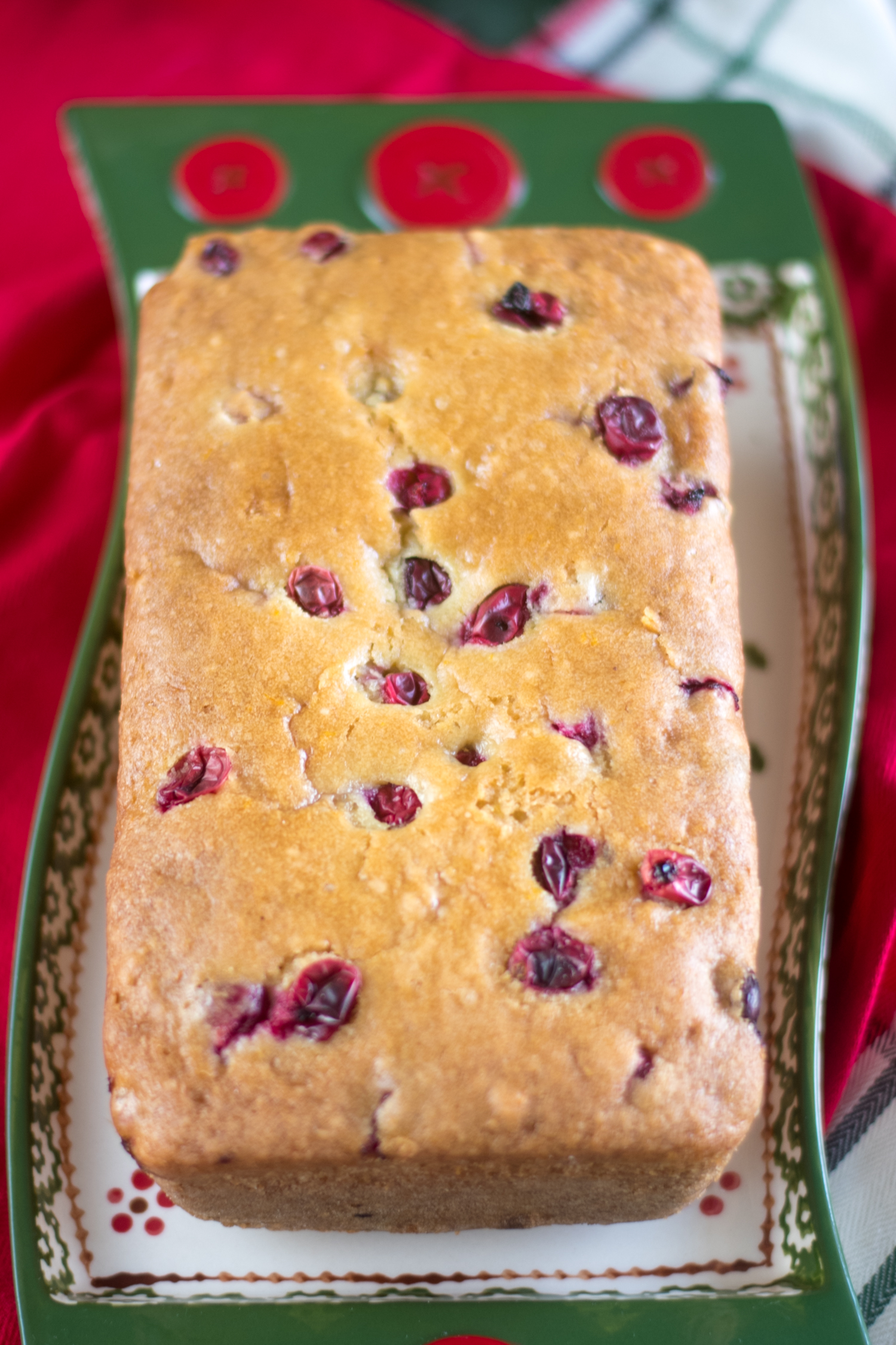 This Vegan Cranberry Orange Pound Cake is moist, flavorful, and will soon become a favorite to bake during the holidays and winter months.