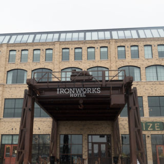 Located just North of Indianapolis, near the Keystone Fashion Mall, you'll discover touches industrial items throughout the Ironworks Hotel. If you are looking for a unique hotel in the Midwest, the Ironworks Hotel just might be the perfect boutique hotel for you. #travel #Midwest #hotel #USA #Indiana #boutique #luxury